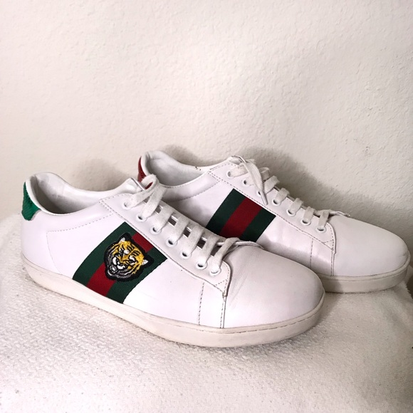 gucci sneakers with lion - 59% OFF